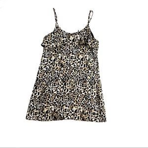 Franchesca's animal print dress NWT size Small